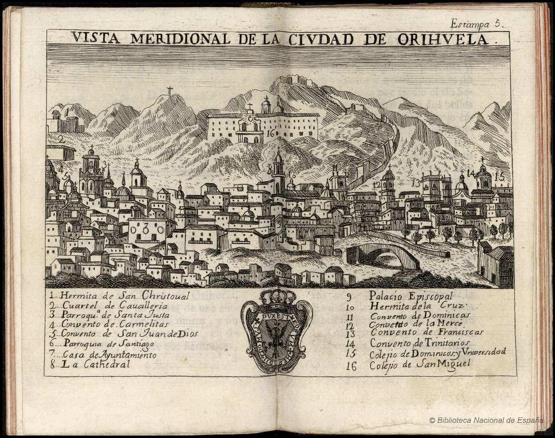 Orihuela Atlante Español  ESPINALT Y GARCÍA, Bernardo.