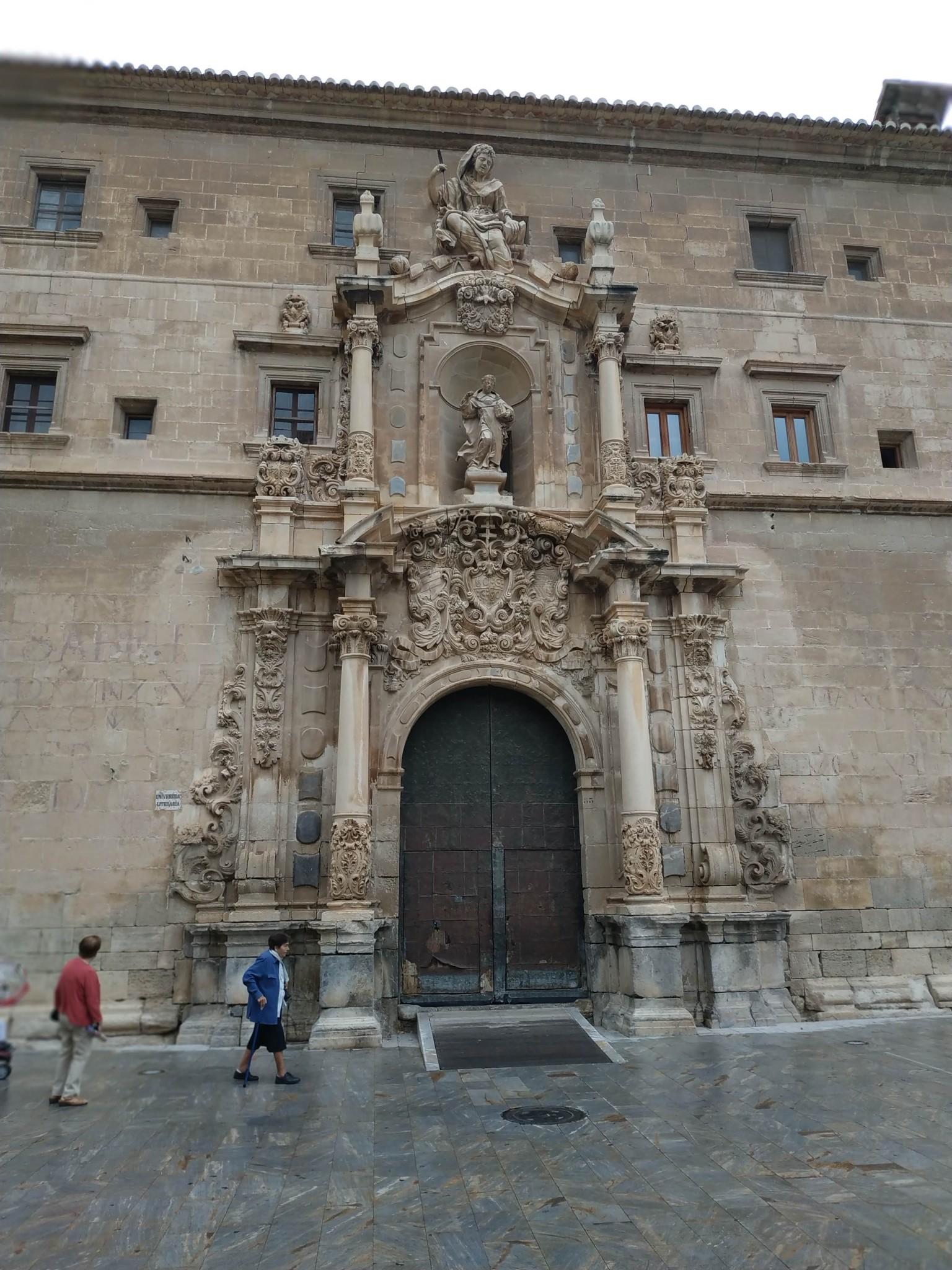 Puerta de la Universidad. Colegio Santo Domingo