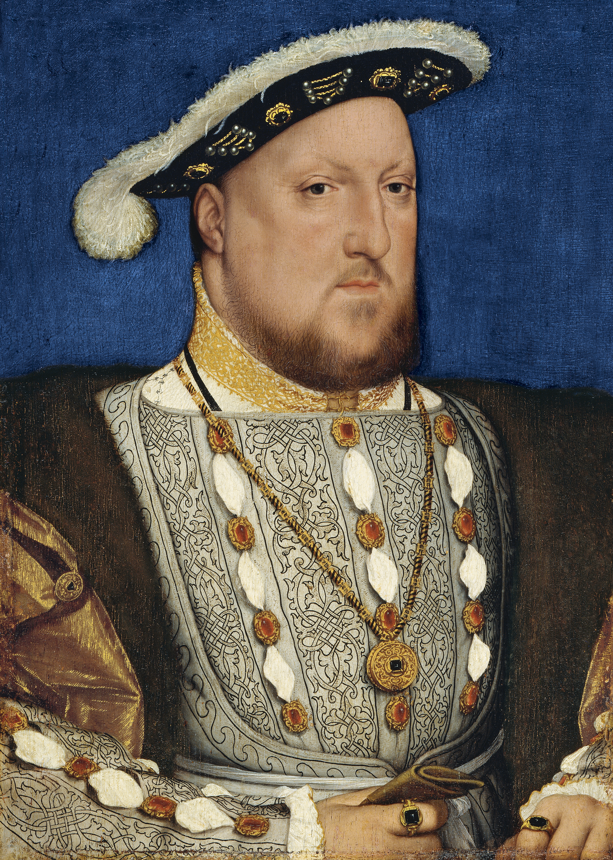 Enrique VIII, Hans Holbein el joven Museo Nacional Thyssen-Bornemisza, Madrid