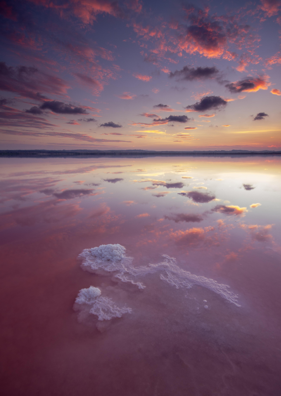 formación de sal salinas de Torrevieja