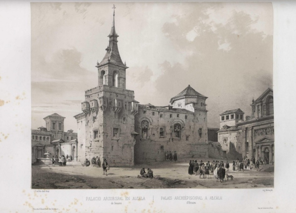 palacio arzobispal alcala