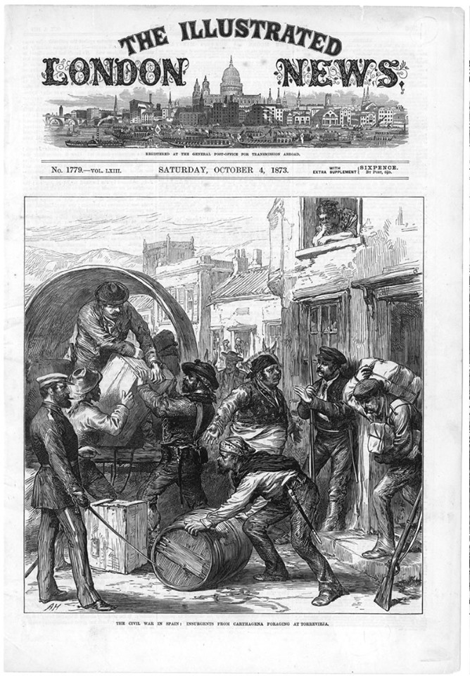 Puerto de Torrevieja revolución cantonal 1873