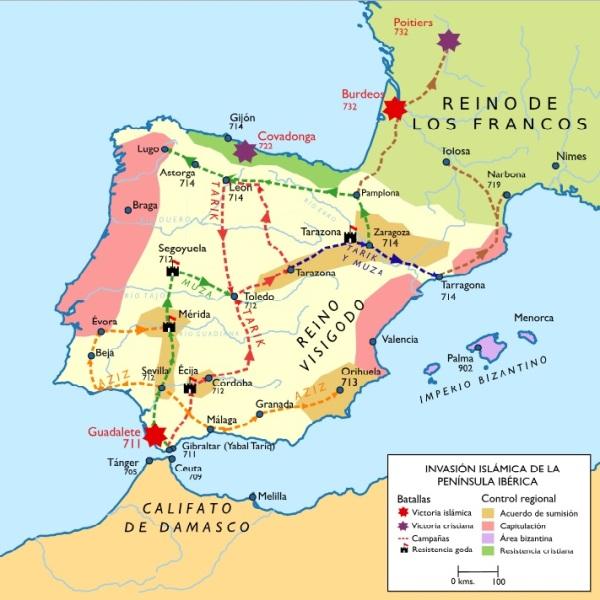 conquista árabe España