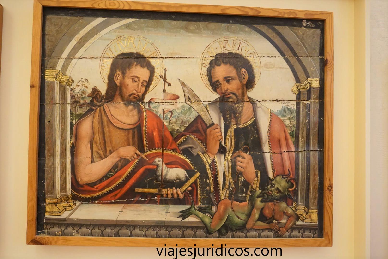 Diablesa de Astorga retablo Román de Bécares
