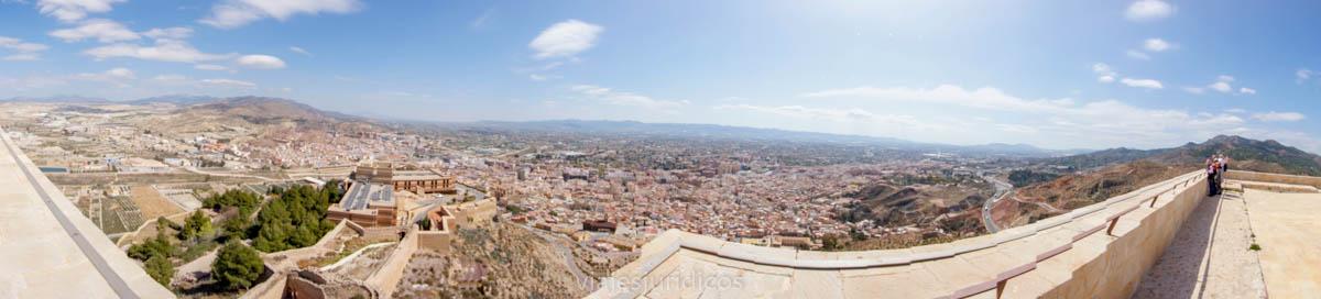 vista lorca desde torre alfonsina