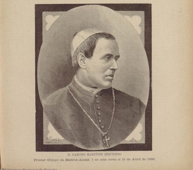 primer obispo de madrid alcala