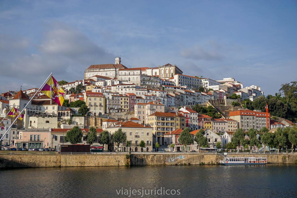 Vista de la ciudad de Coimbra