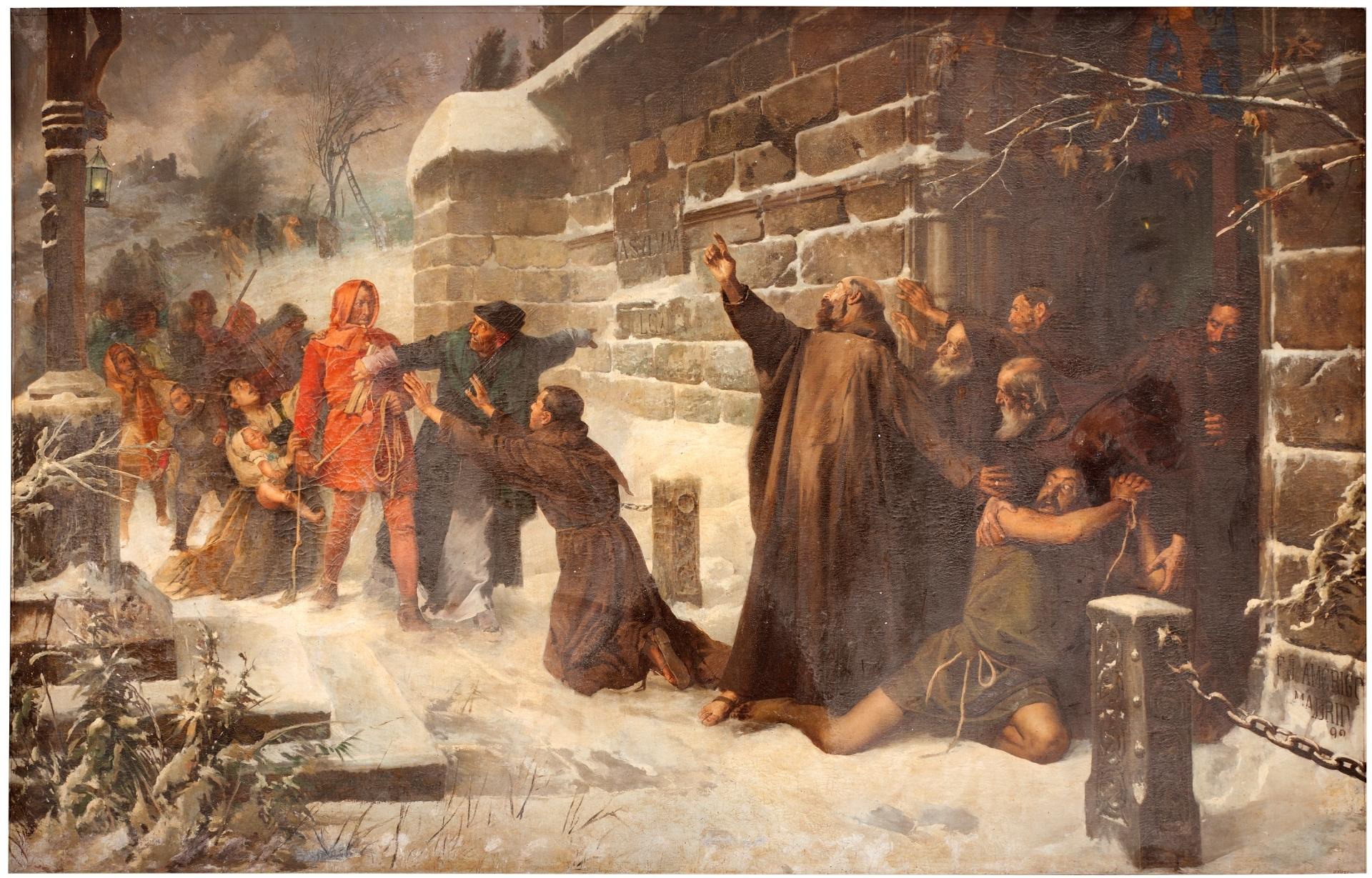El derecho de asilo medieval