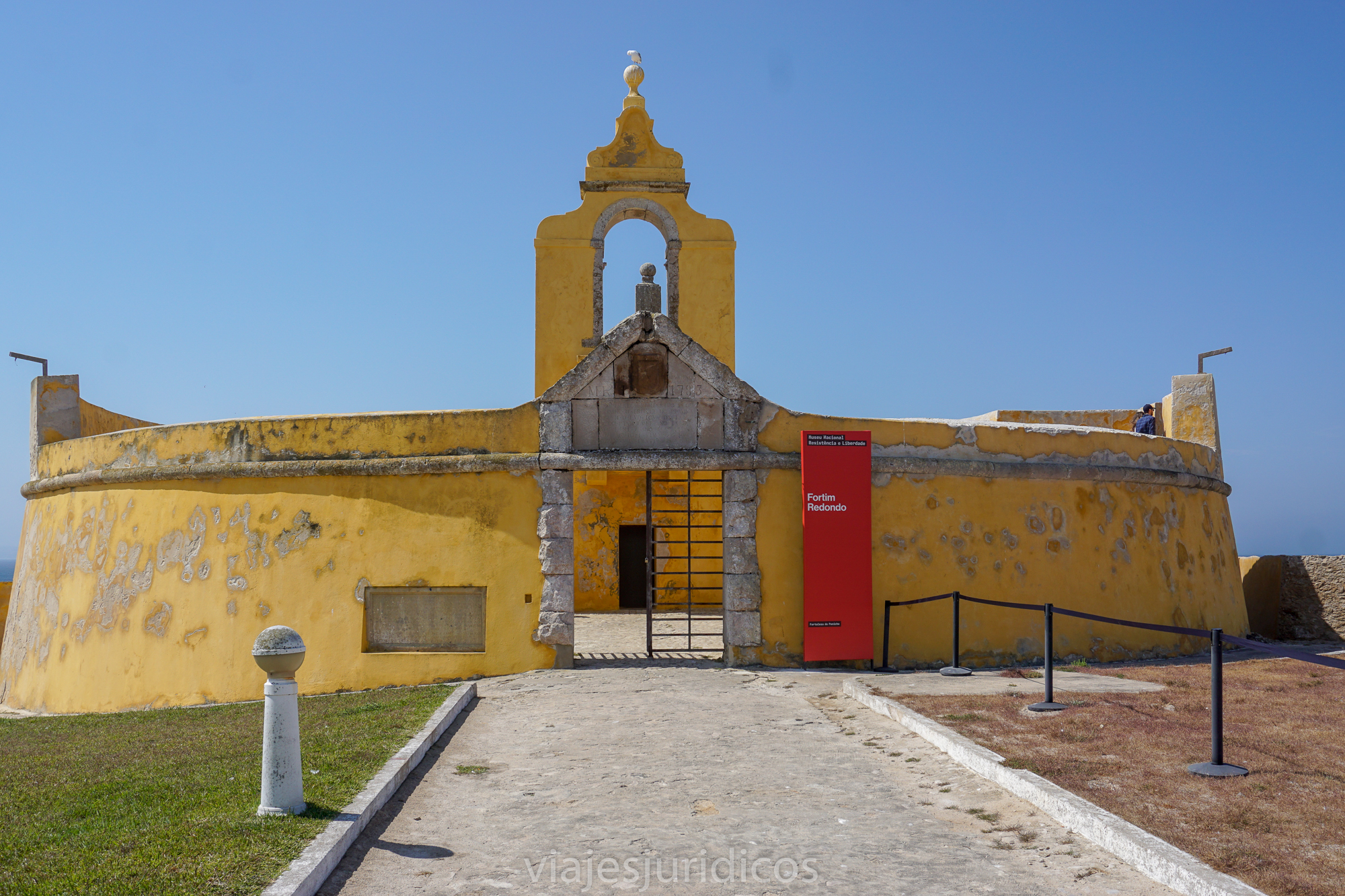 Fortin redondo Peniche museo de la resistencia y libertad