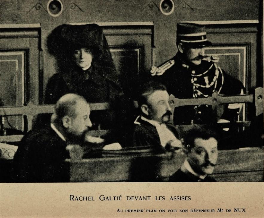 rachel galtie envenenadora francia saint clar juicio